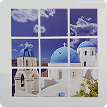 Spacer Frame Picture Frame Collage (10) 4x6 Acrylic Frames: Amazon ...