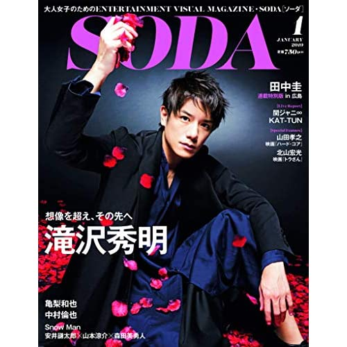 SODA 2019年1月号 表紙画像