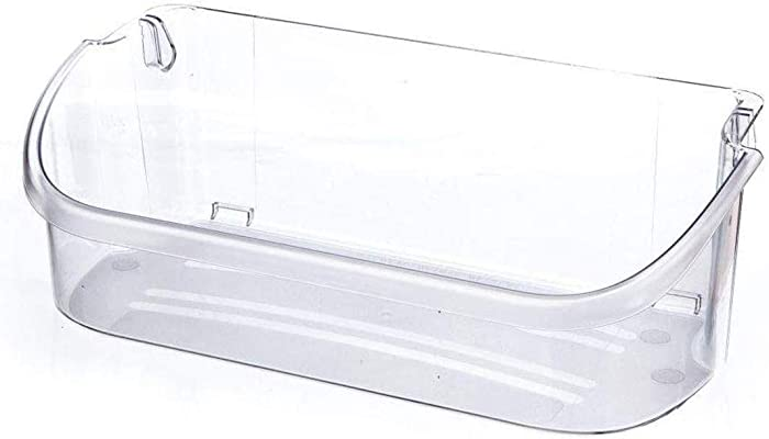 240356402 Refrigerator Door Bin Side Shelf Compatible Frigidaire and Electrolux, Upper Slot Replacement door shelf, Size - Replaces AP2549958, 240430312, 240356416, 240356407,lfus2613leo,ffss2315td0