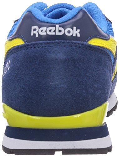 Reebok GL 2620 - Zapatillas infantil Azul  (Enrgy Blue/Btk Blue/Stngr Yllw/Wht/Blk)