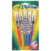 Crayola 5 Paint Brush Pens Washable