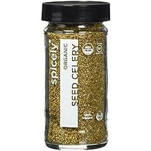 Spicely Organic Celery Seeds Whole 1.40 Ounce Jar Certified Gluten Free