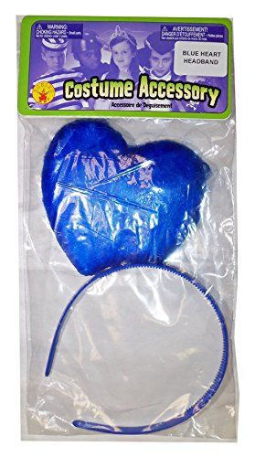 Katy Perry Blue Heart Headband Costume Accessory -