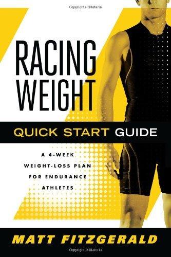 By Matt Fitzgerald Racing Weight Quick Start Guide (The Racing Weight Series) (1st Edition) (Matt Fitzgerald Racing Weight Quick Start Guide)