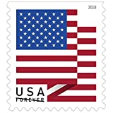 US Flag - 2018 USPS Forever First Class Postage Stamp U.S. Forever Patriotic American Flag - Coil of 100