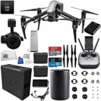 DJI Inspire 2 Premium Combo with Zenmuse X5S and CinemaDNG and Apple ProRes Licenses Videographer 240G Starters Bundle