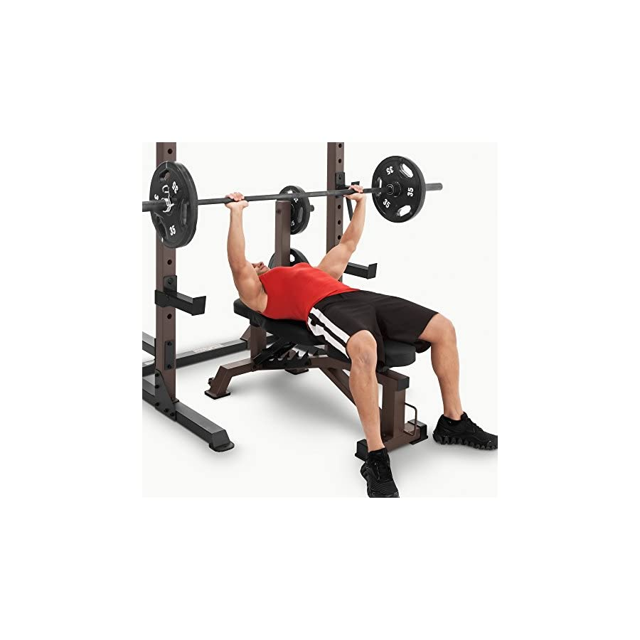 Steelbody Deluxe 6 Position Utility Weight Bench for Weightlifting and Strength Training STB 10105