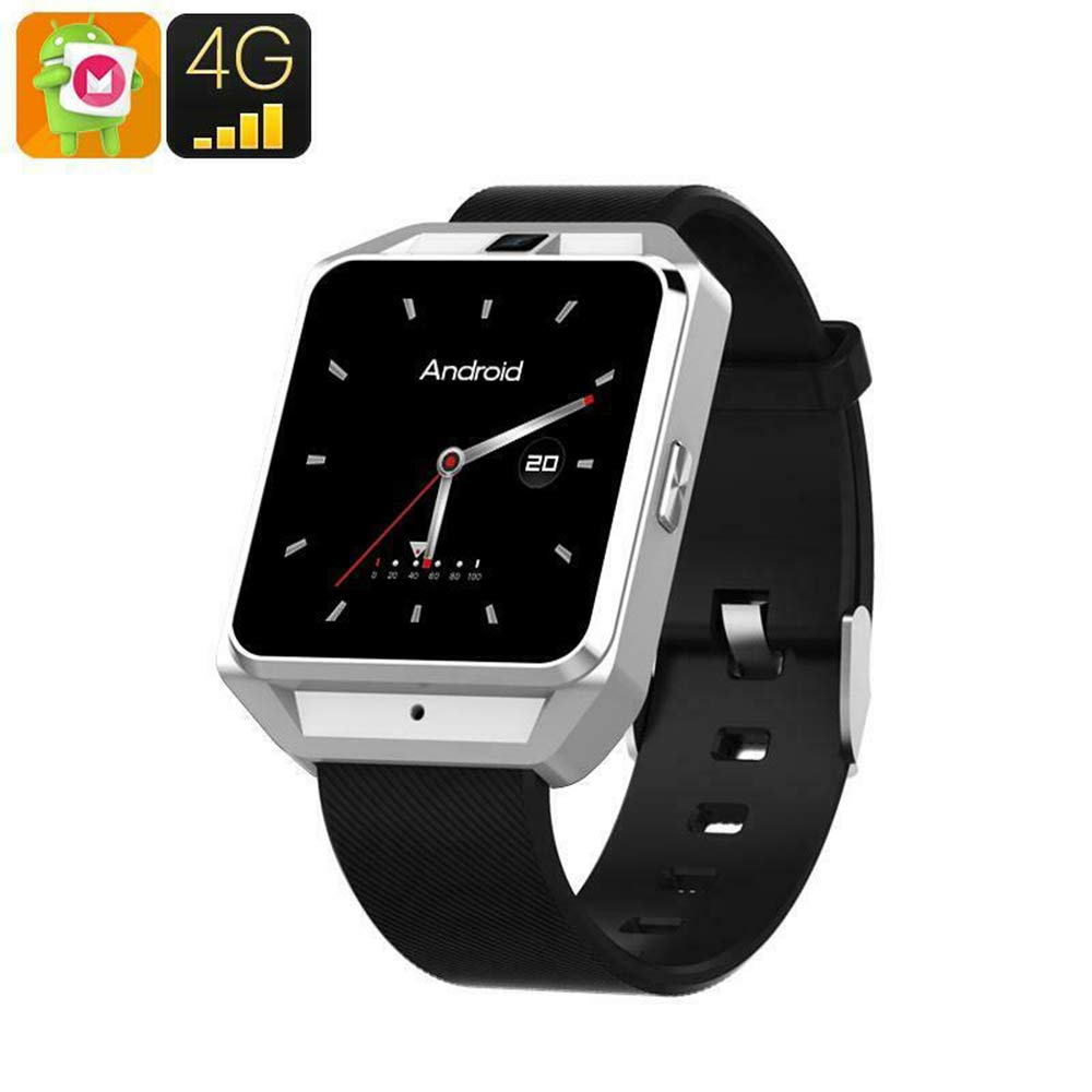 Wisess Smartwatch Android - 4G WiFi Bluetooth Health Tracker ...