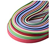 Kenefa Paper Quilling Sets 26 Colors 1040 Strips 3/5/7/10mm Pack Of 4 (Paper Width 10mm)