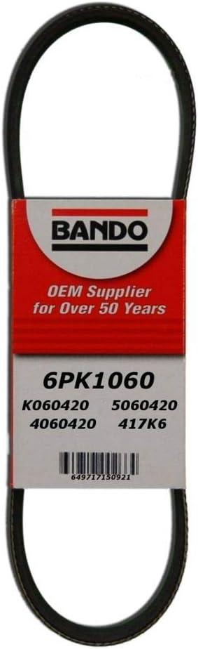 6 Ribs 2 Pack 6PK1295 Bando Rib Ace Micro Serpentine Belt