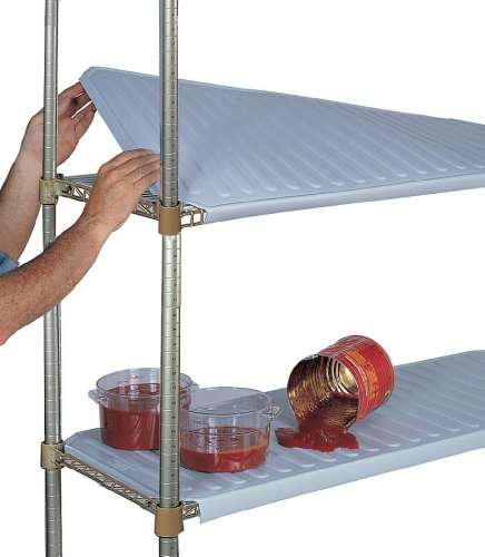 SPG-AM1848P-AMCO-Plastic-Snap-On-Solid-Shelf-Cover-2-lbs-Capacity-48-Length-18-Width-NSF-Approved