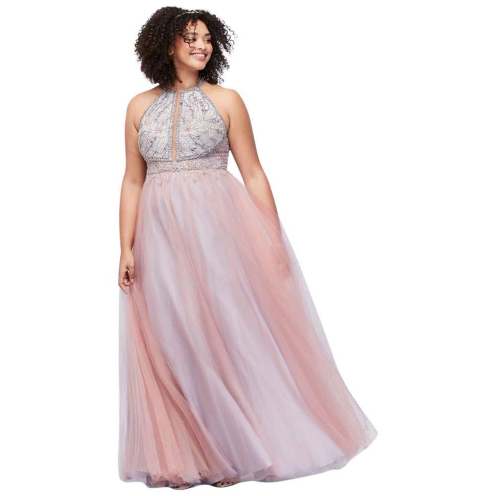 Maxi Dress Davids Bridal Plus Size Prom Dresses