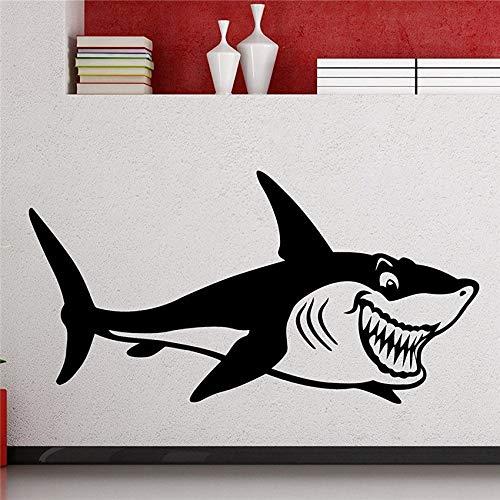 Pattyh Wall Sticker Quotes Decals Decor Vinyl Art Stickers for Kids Rooms Shark Home Art Interior Decoration Any Room Waterproof