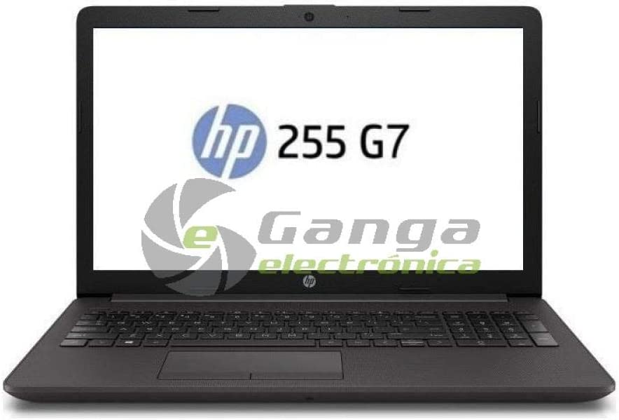 PORTÁTIL HP 255 G7 8MJ07EA - AMD A4-9125 2.3GHZ - 8GB - 256GB SSD SATA M2 - RAD R3-15.6
