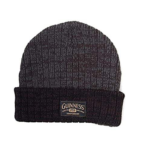 Guinness Acrylic Beanie Hat With Logo Dark