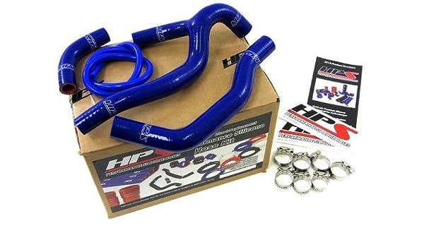 HPS 57-1234-BLUE Silicone Radiator Hose Kit for Honda CRF250R