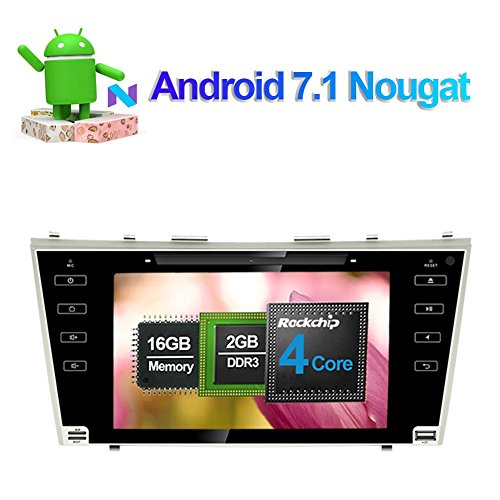 8 Inch Android 7.1 Car Stereo CD DVD Player Full Touch: Amazon.co.uk: Electronics