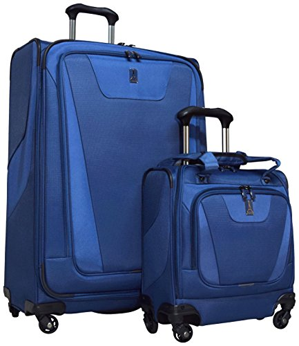 Travelpro Maxlite 4 2-Piece Luggage Set: 29'' Expandable Spinner & Easy Carry On Under Seat Bag (Blue) by Travelpro