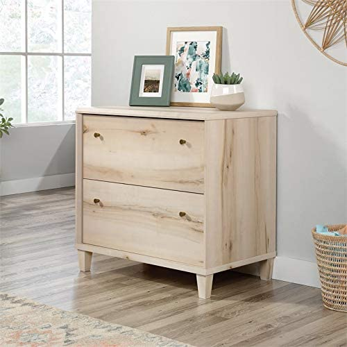 Sauder Willow Place Engineered Wood Lateral File Storage Cabinet Pacific Maple