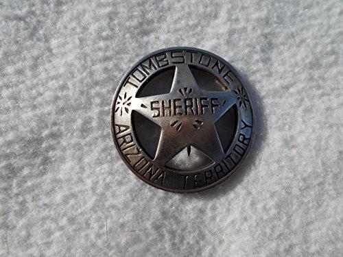 Costume Badge Sheriff Tombstone Arizona Old West