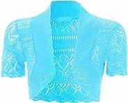 Chocolate Pickle Womensplus Size Kinnted Boleros Crochet Shrugs Cardigans