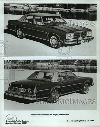 1977 Press Photo 1978 Oldsmobile Delta 88 Royale Sedan Diesel - mjc34952 - Historic Images ()