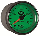 Auto Meter 7310 NV Full Sweep Electric Programmable Empty Full Range Fuel Level Gauge