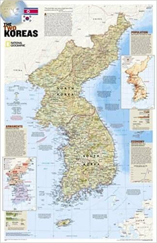 North korea south korea the forgotten war 2 sided tubed north korea south korea the forgotten war 2 sided tubed national geographic reference map national geographic maps reference 0749717200968 sciox Choice Image