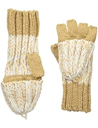 Women's Marled Convertible Knit Gloves