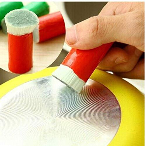 GYC Acero Inoxidable retractil 1PC Varilla de Acero Inoxidable Magic Stick Rust Remover Limpieza Cepillo de Lavado Limpiar Olla Accesorios de Cocina Comedor Herramientas para el hogar