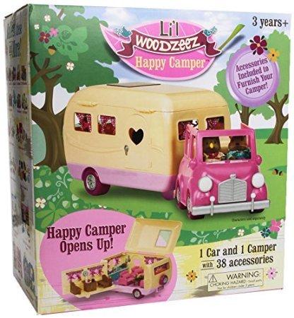 Li'l Woodzeez Happy Camper w/Accessories