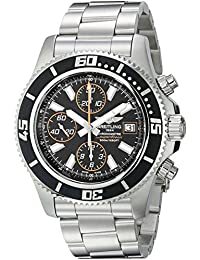 Men's A1334102-BA85 Superocean Stainless Steel Watch