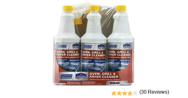 Amazon.com : Members Mark Commercial Oven, Grill and Fryer Cleaner, 32 oz., 3 Piece : Garden & Outdoor