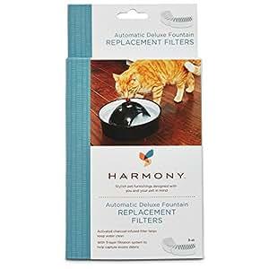 Amazon Com Harmony Automatic Deluxe Ceramic Cat Fountain