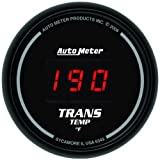 Auto Meter 6349 Sport-Comp Digital Transmission Temperature Gauge by Auto Meter