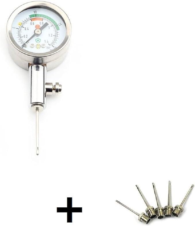 ZXJOY Medidor de presión con 5 agujas, prueba y ajusta la presión ...
