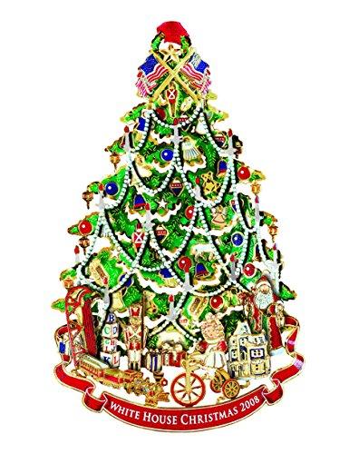 Christmas Victorian Tree - 2008 White House Christmas Ornament, A Victorian Christmas Tree