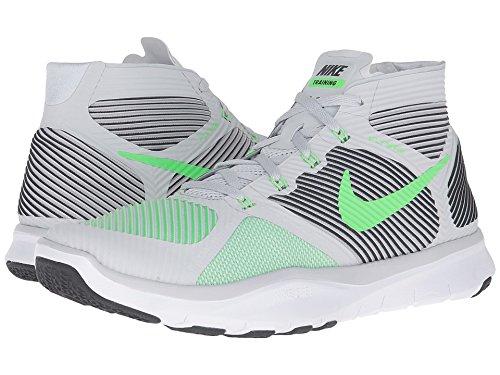 Nike Gratis Trein Instinct Pure Platinum / Zwart / Wit / Woede Groen Heren Crosstraining Schoenen