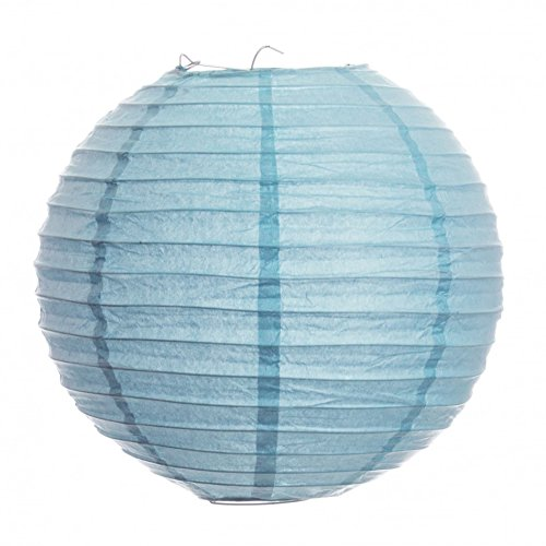 Koyal-18-Inch-Paper-Lantern-Baby-Blue-Set-of-6