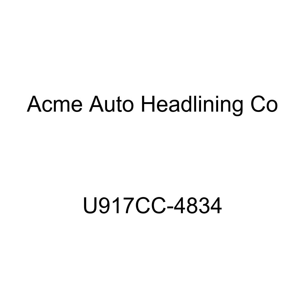 Acme U917CC-4834 Front and Rear Chocolate Vinyl Bench Seat Upholstery