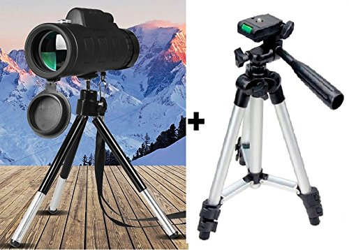 Buy techtest phone clip tripod stand mobile monocular telescopes
