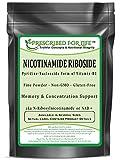 Nicotinamide Riboside - Pyridine-Nucleoside Form of Vitamin B3 Powder, 1 oz