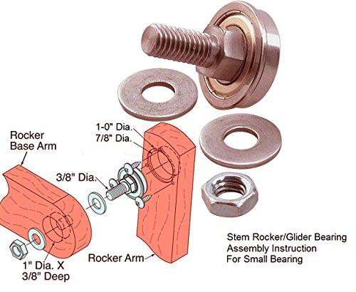 Stem Rocker Bearing Assembly 3/8