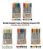 SPECIAL BUNDLE Ranger Tim Holtz 30 Distress Crayons: Distress Crayons Sets 6,7,8,9,10 Ships mid/late Feb'17