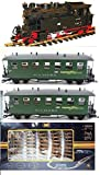 Fichtelbergbahn Complete Train Set Battery Operated G Scale