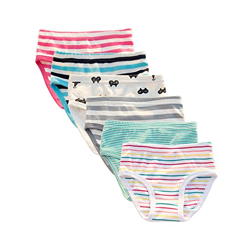 The Kite Toddler Underwear Cotton 6- Pack Size 3t