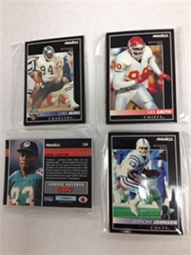 - 1992 Pinnacle FB Cincinnati Bengals Team Set NrMt