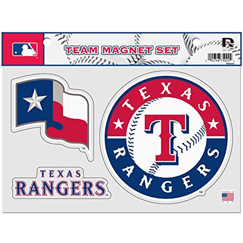 Rico MLB Texas Rangers Team Magnet Set