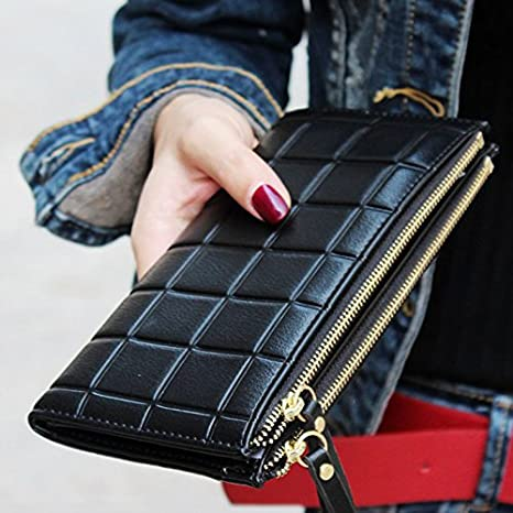 Amazon.com: Luxury Long Walet Women Wallets Female Bag Ladies Money Coin Purse Carteras Cuzdan: Kitchen & Dining