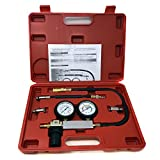 Engine Cylinder Dual Gauge Leakdown Tester kit Diagnostics Tool